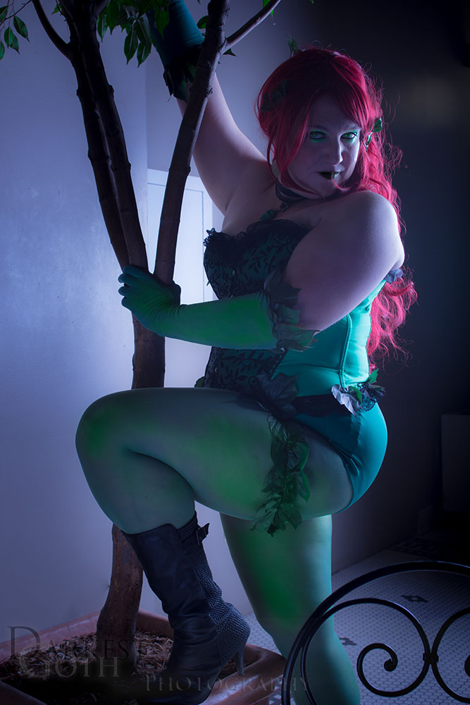 Alecia Cosplay: Poison Ivy 4