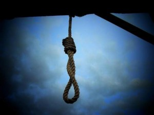 The noose is often the symbol for capital punishment.