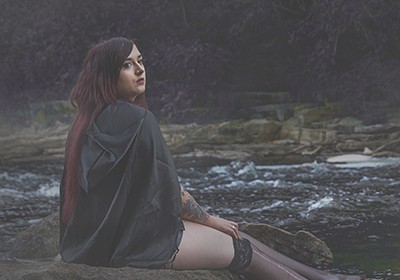JC Photography: A Little Witch In Scarlet [PHOTOGRAPHY GALLERY]