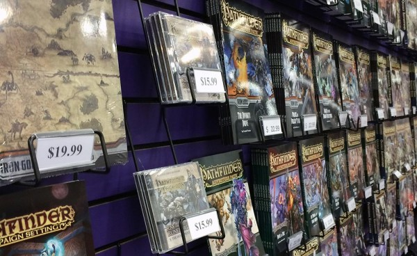 The growth of Pathfinder into a massive brand is easy to see at Gen Con.