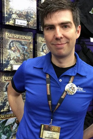 Paizo Editor-in-Chief, Wes Schneider.