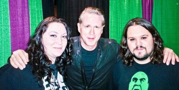 My wife and I with Cary Elwes (The Princess Bride, Robin Hood: Men in Tights, Saw).
