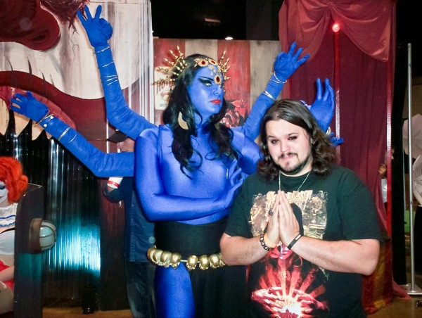 Amazing cosplay done by a member of the freak show Circus Envy.