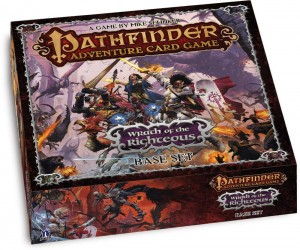 In the Pathfinder Adventure Card Game, players were playing the recently released: Wrath of the Righteous.
