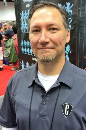 Adam Sblendorio (VP of Creative at Cryptozoic)