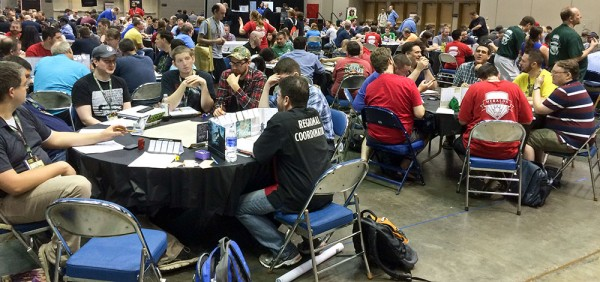 The massive gaming room is a huge part of Gen Con.