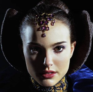 The stunning Natalie Portman from the prequels.