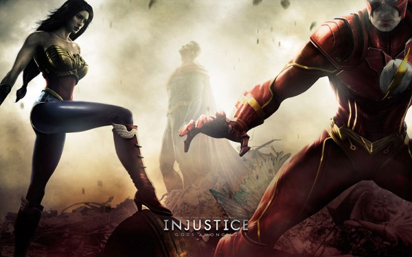 Injustice: Gods Among Us looks at an alternate dimension with an Fascist Superman.