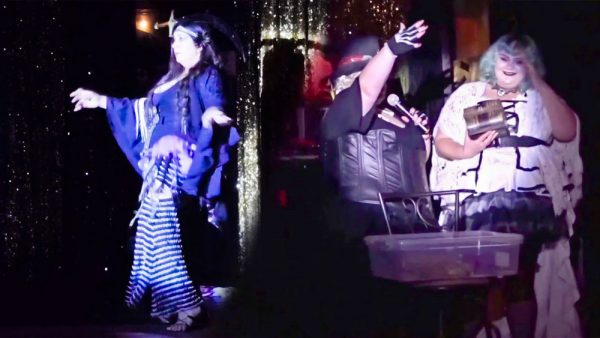 Different size-welcoming performers showcase their talents at Club Bodice Events.