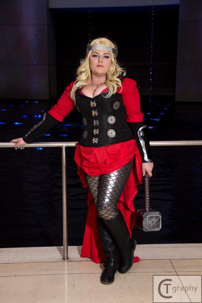 Steampunk Lady Thor 1