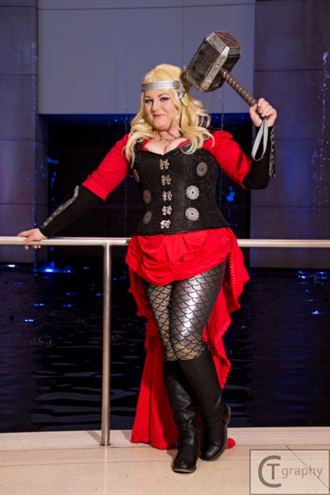 Steampunk Lady Thor 3