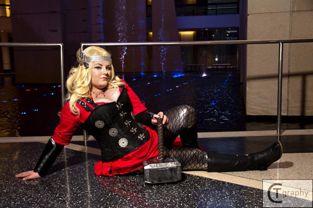 Steampunk Lady Thor 8
