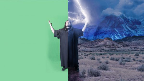 Shooting on a green screen, which digital cameras record with more detail, makes it easier to remove that color in favor of another background.