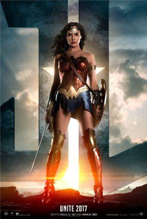 Wonder Woman's Unite 2017 poster.