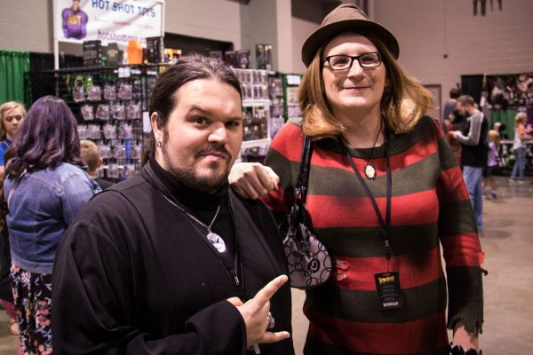 Sammy Bates of Rotting Corpse Productions as a female Freddy Krueger