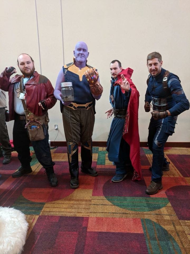 An example of the amazing cosplay we got to see everywhere.